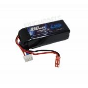 Bateria Lipo Zeee Power 3s 11.1v 850mah 30/60c Top Linha!!!
