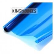 Chinakote (monokote)- Azul Translúcido - 640mm - 1xmetro