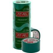 Fita Adesiva Para Entelagem - 48mm(larg.) X 45mts(Comp.) - Cor:verde