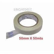 Fita Filamentosa Em Pp - 50mm X 50mts - Reforço Aeromodelo