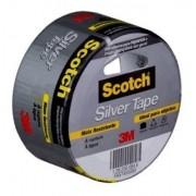 Fita Silver Tape 45mm X 5mts Scotch Cinza 3m