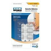 Gancho Adesivo Cristal Tekbond - Organizador - Prender Fio