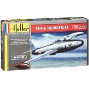 Heller - F-84g Thunderjet Escala 1:72 - 49pçs - 80278