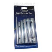 Jogo Chave Copo Para Vela 8 A 17mm Serve Dle / Rcgf / Dla