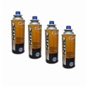 Kit Com 4 X Refil De Gás Butano Náutika -fogão/maçarico-227g