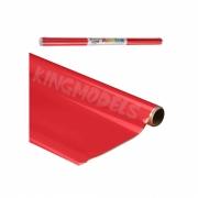 Monokote Topflite(genuino) - Vermelho(missile Red)- Topq0201