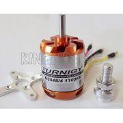 Motor Brushless Turnigy D3548-4 -1100kv - 910w - Aeros 2.3kg