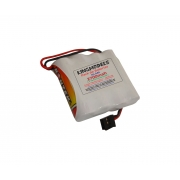 Pack Bateria Nimh 4,8v - 2700mah - Modelismo - Flat Ou Torre