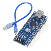 Placa Arduino Nano V3.0 Atmega 328 Ch340 + Cabo Usb