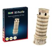 Quebra Cabeça 3d Revell 0117 Torre Pendente De Pisa - 8pçs