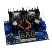 Regulador Tensão Ent.4-36v / Saída.1.2-36v 8a C/ Voltímetro