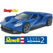 Revell 2017 Ford Gt 1:24 Lv.2 - Snaptite - 85-1987