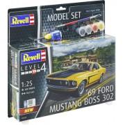 Revell '69 Ford Mustang - 1:24 - Level.4 - 67025 Model Set