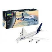 Revell - A380-800 Lufthansa New Livery 1:144 Lv.5 - 3872