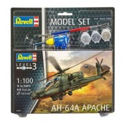 Revell - Ah-64a Apache - Nivel 3 - Model Set - 64985