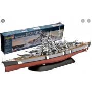 Revell -battleship Bismark - Escala 1:700- Level 5 - 5098
