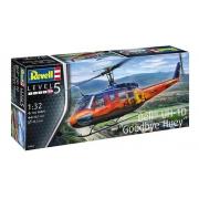 Revell Bell Uh-1d Goodbye Huey Escala 1:32 - Level 5 - 3867