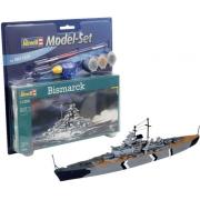 Revell Bismarck Esc 1:1200 Lv.3- Model Set 65802
