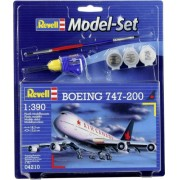 Revell - Boeing 747-200 Air Canada 1:390 Lv3 Model Set 64210