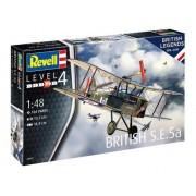 Revell - British S.e.5a - Escala 1:48 - Level 4 - Cód. 3907