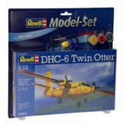 Revell - Dhc-6 Twin Otter - 1:72 - Level 3 - Model Set 64901