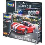 Revell Dodge Viper Gts 1:25 - Level 4 Rev 67040 Model Set