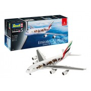 Revell - Emirates A380-800 Wildlife Esc 1:144- Lv.5 - 3882