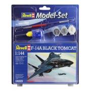Revell F-14a Black Tomcat Esc 1:144 Lv.3 Model Set - 64029