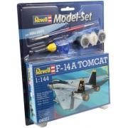 Revell - F-14a Tomcat Esc 1:144 Level 3 Model Set - 64021