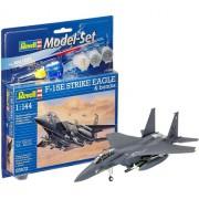 Revell - F-15e Strike Eagle - 1:144 - Lv3 - Model Set 63972