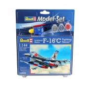 Revell - F-16c Fighting Falcon - 1:144 Lv4 - Model Set 63992