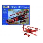 Revell Fokker Dr.i Triplane 1:72- Lv.3 - 64116
