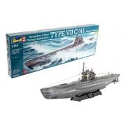 Revell German Submarine Type Vii C/41 1:144 Lv4 5100