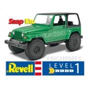 Revell Jeep Wrangler Rubicon 1:25 Lv.1 - Snaptite - 85-1695
