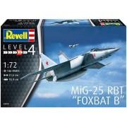 Revell Mig-25 Rbt Foxbat B 1:72 Level.4 Cód.3878