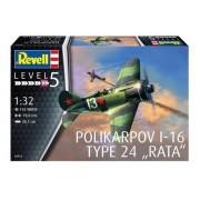 Revell Polikarpov I-16 Type 24 Rata 1:32 - Lv.5 - 3914