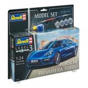 Revell - Porsche Panamera Turbo 1:24 N.3 Model Set 67034