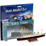 Revell - R.m.s. Titanic - 1:1200 Level 3 - Model Set - 65804