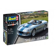 Revell - Shelby Series 1 1:25 Nível.4 Rev7039