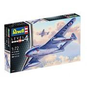 Revell - Vampire F Mk.3 - 1:72- Level 4 - 3934