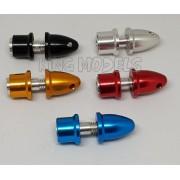 Spinner Alumínio Pequeno - Motores C/ Eixo 3.17mm - 5x Cores Anúncio com variação