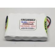 Super Pack Bateria Nimh 6.0v - 2300mah P/ Modelismo - Top!!!