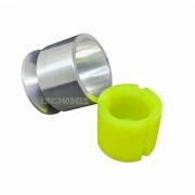 Suporte De Alumínio + Cone De Silicone P/ Montagem Starter