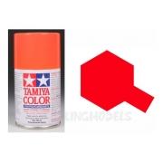 Tamiya Color Para Polycarbonato Spray Ps-20 Fluorescente Red
