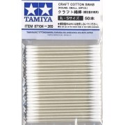 Tamiya Craft Cotton Swab - Cotonete P/ Arremate 50pçs 87142