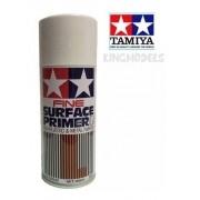 Tamiya Surface Primer Branco Preparador De Fundo 180ml 87044