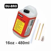 Tanque de Combustível Du-Bro Quadrado - 16oz - 480ml