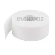 Tubo Termo-retrátil Pvc 150mm(chato)-diametro95.4mm -branco