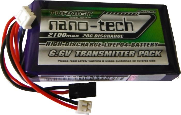 Bateria Life Nano Tech 2s - 6.6v - 2100mah Para Rádios  - King Models
