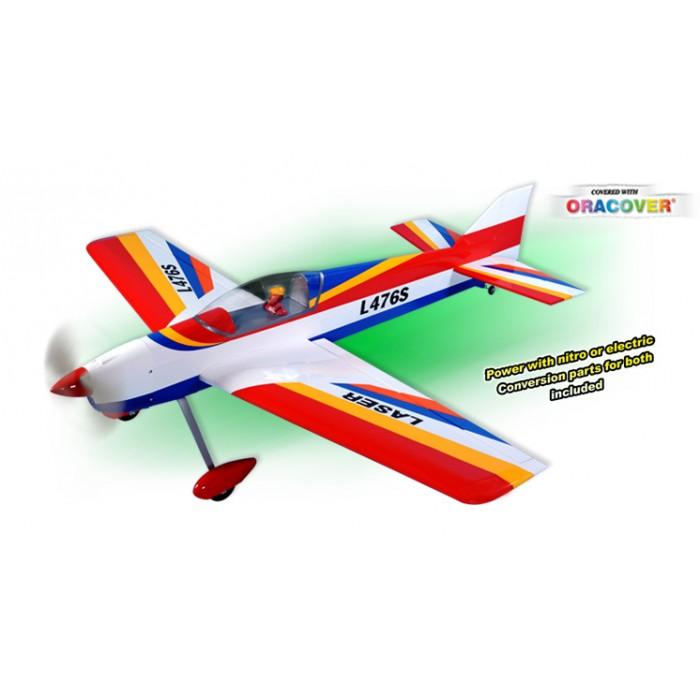 Aeromodelo A Combustão - Kit Arf - Intermediária - Laser  - King Models